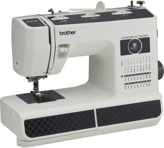 Brother HF 37 naaimachine met harde kap en inoger