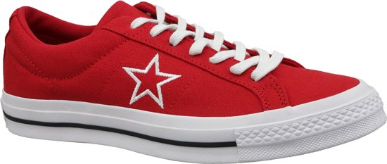 5acd2a6ca39 bol.com | Converse One Star Ox 163378C, Mannen, Rood, Sneakers maat ...