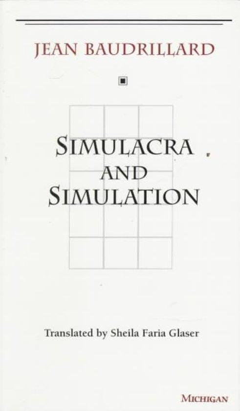 Boek cover Simulacra and Simulation van Jean Baudrillard (Paperback)