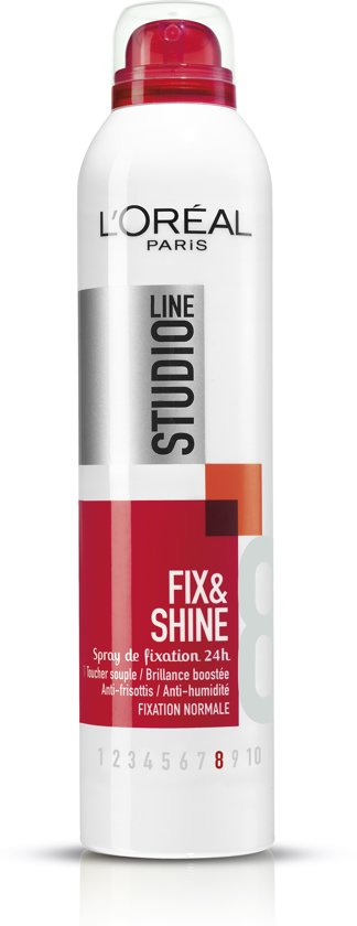 L'Oréal Paris Studio Line Fix & Shine Haarspray - 250 ml - Super Strong
