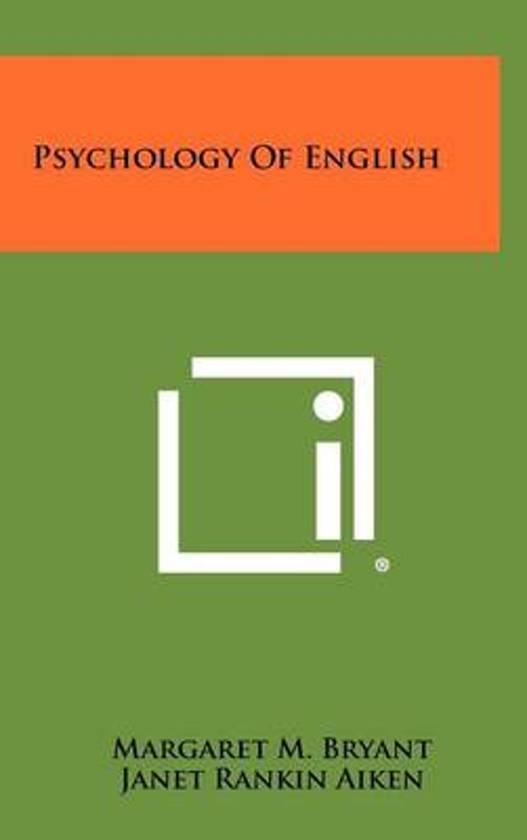 Psychology of English