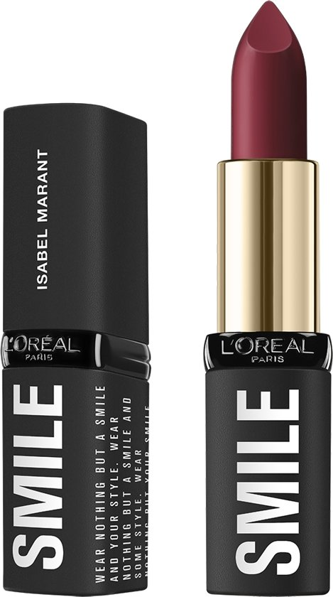 L'Oréal Paris X Isabel Marant Lippenstift - Limited Edition - 01 Belleville Rodeo - Donkerrood