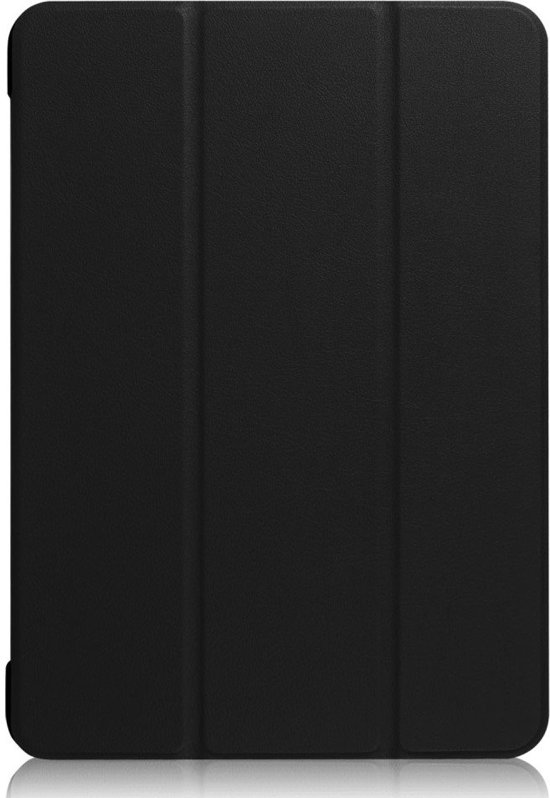 Shop4 - iPad 9.7 (2017) Hoes - Smart Book Case Zwart