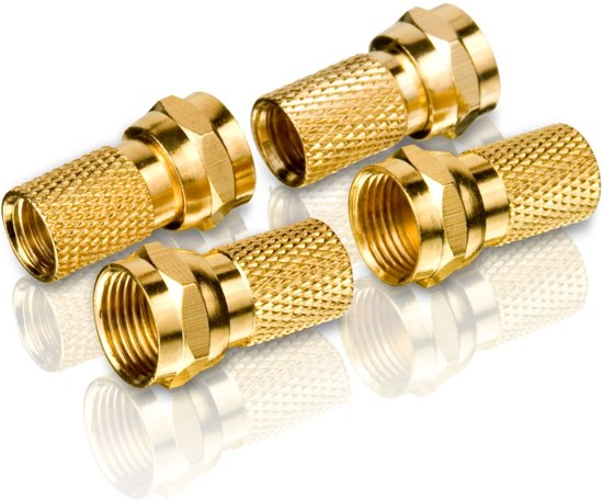 Philips SWV4158S - F-Type Connectors - Goud