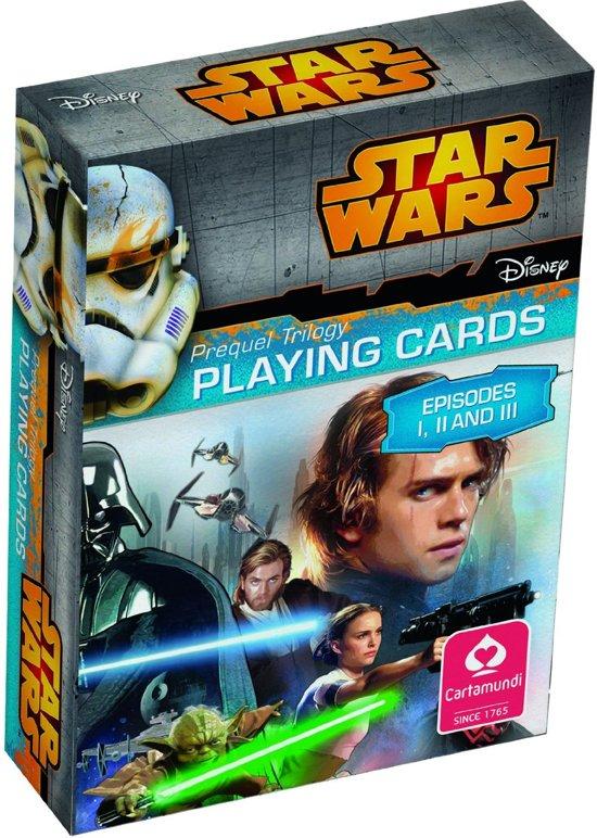 Afbeelding van het spel Star Wars Speelkaarten Star Wars Episode 1-6