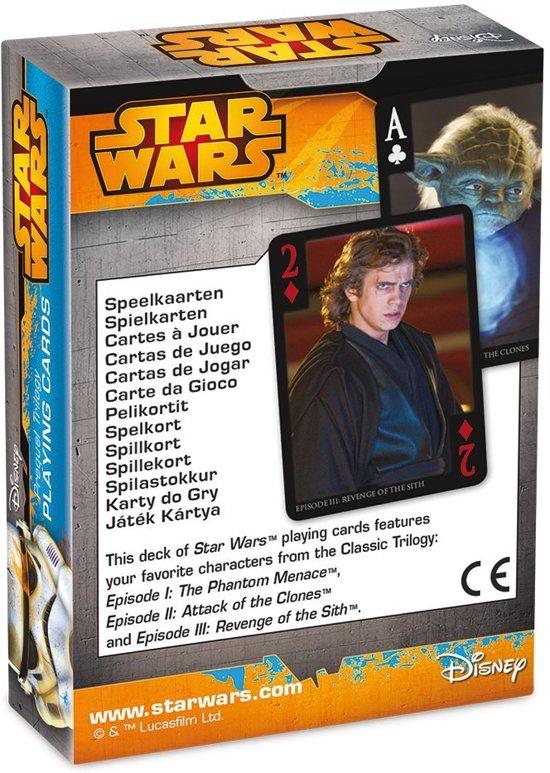 Thumbnail van een extra afbeelding van het spel Star Wars Speelkaarten Star Wars Episode 1-6