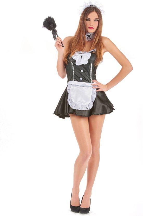Sexy kamermeisje outfit voor vrouwen  - Verkleedkleding - Medium
