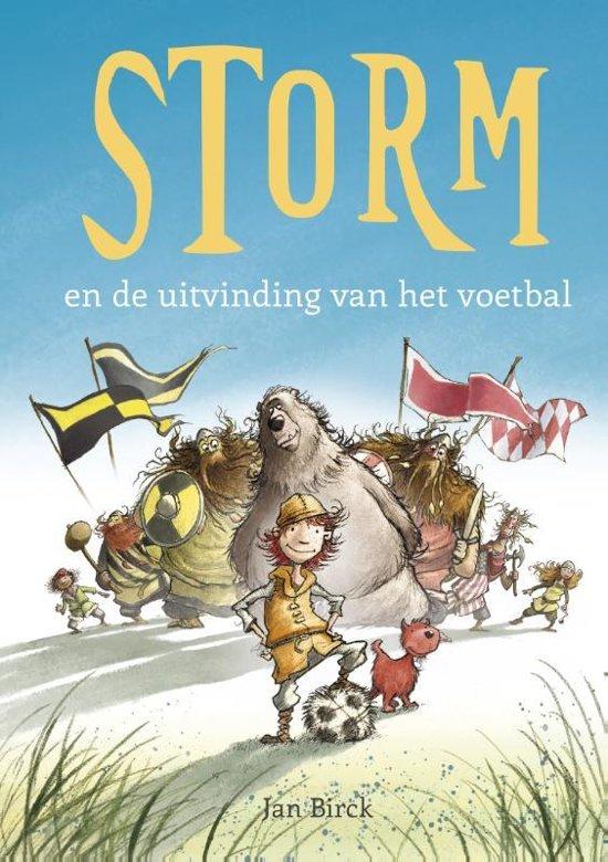 Afbeeldingsresultaat voor storm en de uitvinding van het voetbal