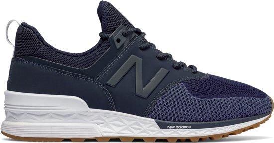 new balance 574 blauw