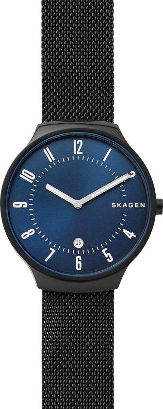 Skagen Grenen horloge  - Zwart