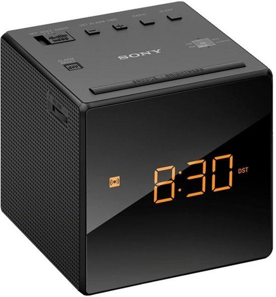 Sony ICF-C1 - Wekkerradio - Zwart