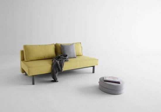 Slaapbank 140 Cm.Bol Com Hioshop Slaapbank Design Sly Kerrie Geel 140x200 Cm