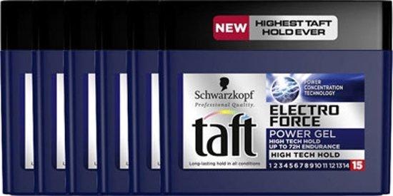 Taft Gel Electro Force Cube Voordeelverpakking