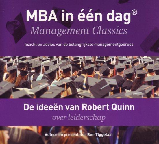 Boek cover De ideeen van Robert Quinn over leiderschap van Ben Tiggelaar (Onbekend)