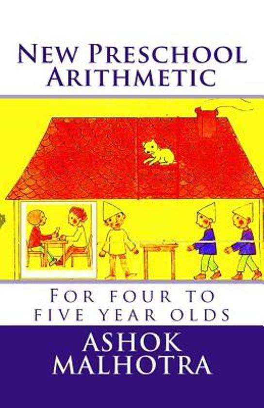 Boek cover New Preschool Arithmetic van Dr Ashok Malhotra (Paperback)