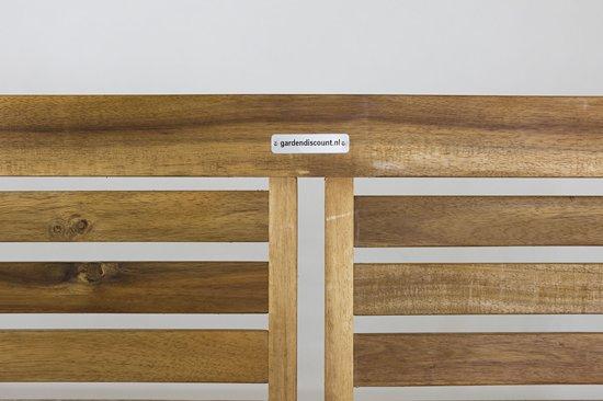 MaximaVida tuinbank Comfy 120 cm - 100% FSC Acacia hardhout - Comfort