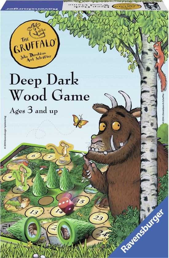 Ravensburger The Gruffalo- The Deep Dark Wood game - kinderspel