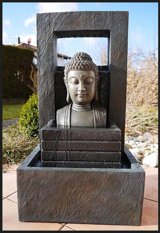 Boeddha Fontein Voor Buiten.Boeddha Buddha Buda Fontein 74 Cm Waterpartij Waterornament