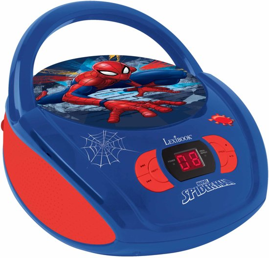 Spider Man Radio CD player