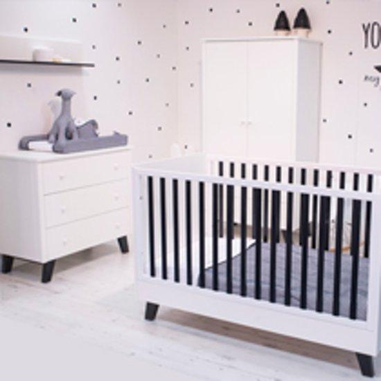 Babybed Met Kast.Bol Com Born Lucky Babykamer Zara 3 Delige Ledikant 70x140cm