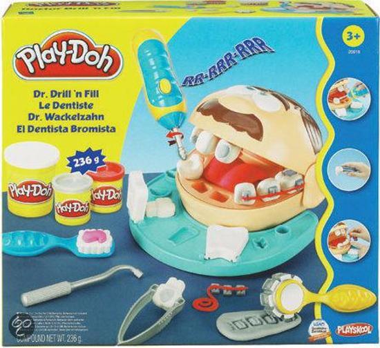 bol play doh bij de tandarts plasticine hasbro