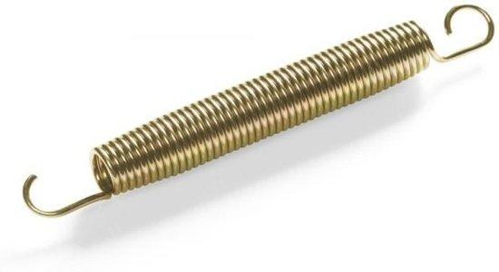 Trampoline veer 18cm - goudkleurig (1st)