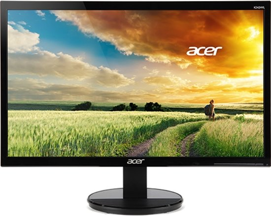 Acer K2 K242HYLA computer monitor 60,5 cm (23.8'') Full HD LED Flat Zwart