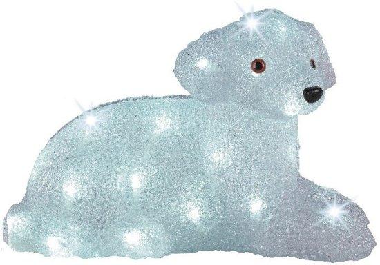 bol.com | LED verlichting hond liggend 37 cm - kunstbloemen