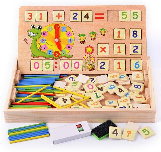 bol.com | Educatief-Houten speelgoed-Geheugenspel-Leerzaam ...