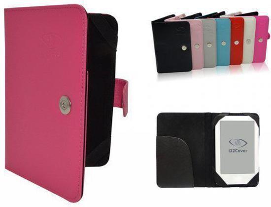Kobo Glo Book Cover, e-Reader Bescherm Hoes / Case, Hot Pink, merk i12Cover