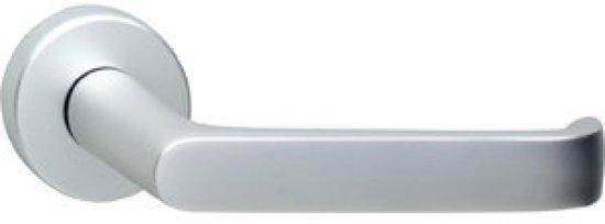 Bolcom Deurkruk Haak Op Rozet Aluminium F1 Gematteerd Paar