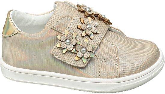 952879696f5 Cupcake Couture Kinderen Metallic gouden sneaker klittenbandsluiting - Maat  23