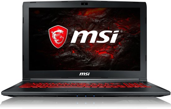 MSI GL62MVR 7REX-1062NL - Gaming Laptop - 15.6 Inch