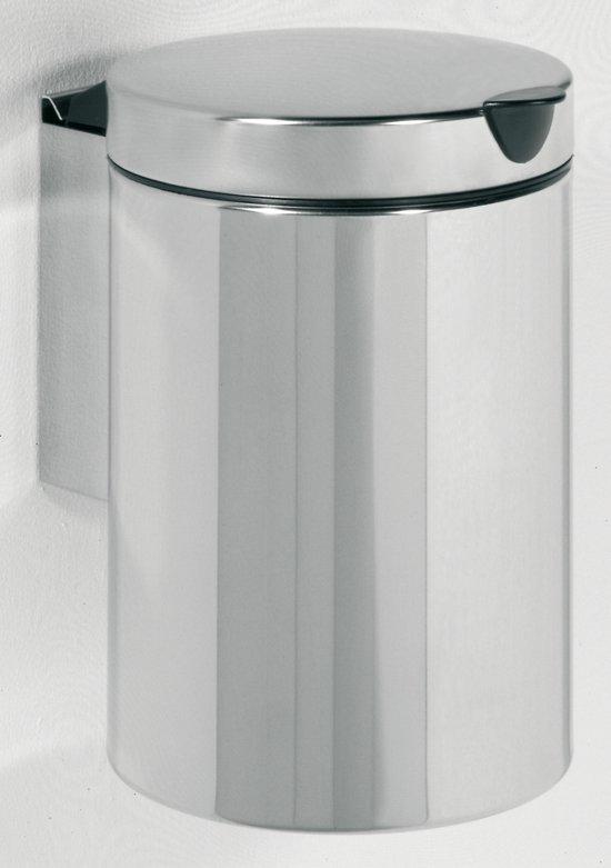 bol.com | Tiger Wand Vuilbak - 3 Liter - Edelstaal