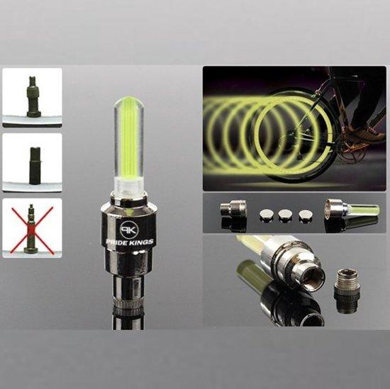 bol.com | LED Fietswiel verlichting set van 2-Geel + 1 set gratis ...