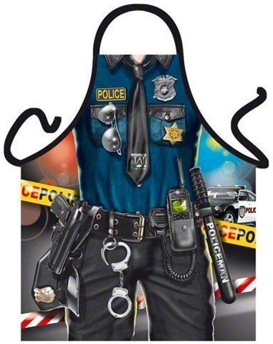 Politie man - Grappig Leuk Schort Keukenschort