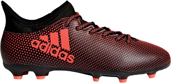 the latest f66b8 0f2ce adidas X 17.3 FG Voetbalschoenen - Maat 33 - Unisex - rood  zwart