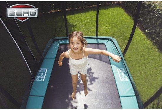 BERG EazyFit Trampoline 220 x 330 cm met Veiligheidsnet Deluxe