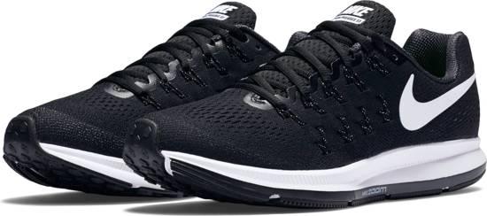 Nike Air Zoom Pegasus 33 - Hardloopschoenen - Vrouwen - 831356-001 - Maat  37,5 - Zwart