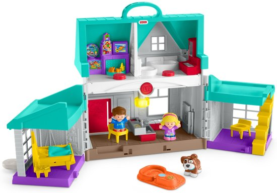 Fisher-Price Little People Handige Helpers Huis - Speelset