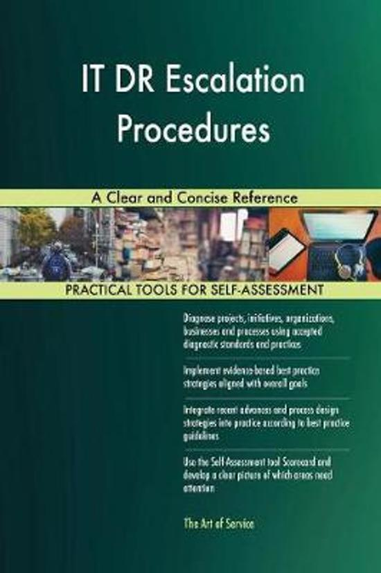 It Dr Escalation Procedures a Clear and Concise Reference