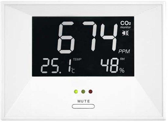 bol.com | CO2 - meter inclusief gratis CO2 meterkaart