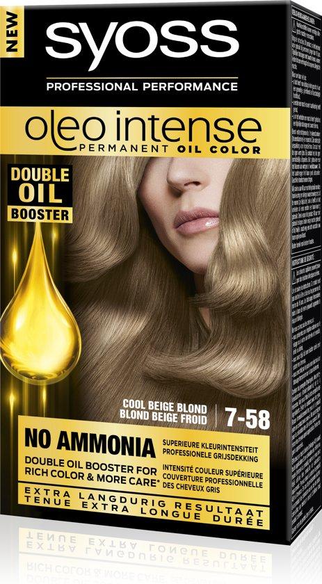 SYOSS Color Oleo Intense 7-58 Cool Beige Blond Haarverf - 1 stuk