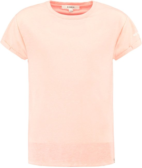 Garcia Meisjes T-Shirt - fluor orange - Maat 128/134