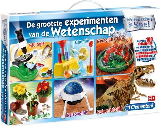 Clementoni De grootste experimenten van de wetenschap - 100 Experimenten
