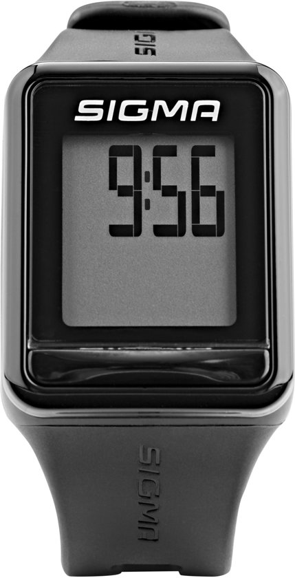 Sigma harstlagmeter ID.GO - sporthorloge met hartslagband - kleur zwart