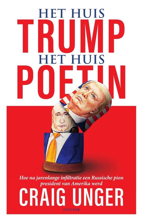 Boek cover Het huis Trump, het Huis Poetin van Craig Unger (Onbekend)