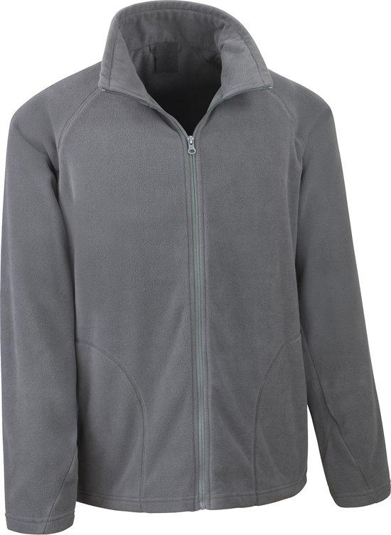 Senvi Basic Thermisch Kleur Maat Vest Xl Fleece Microfleece Laag Antraciet 7Fqt7rdxw