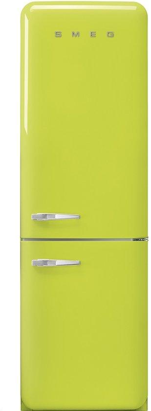 Smeg fab32rven1 koel vriescombinatie groen elektronica - Koelkast groen ...