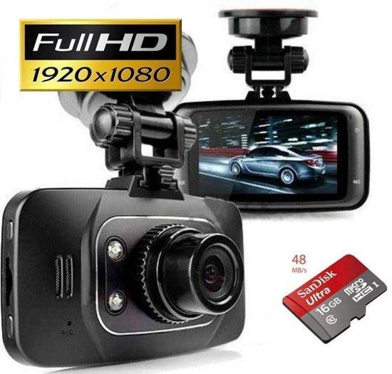 Dashcam GS8000L incl. 16Gb Sandisk en Nederlandse handleiding